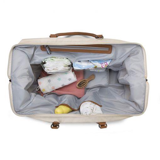 Prebalovacia taška Mommy bag Off White  7