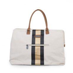 Prebalovacia taška Mommy bag White Black Gold 4