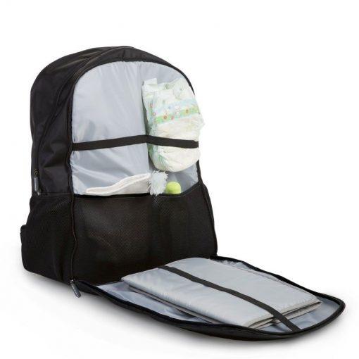 Prebalovací batoh Daddy Bag Black 3