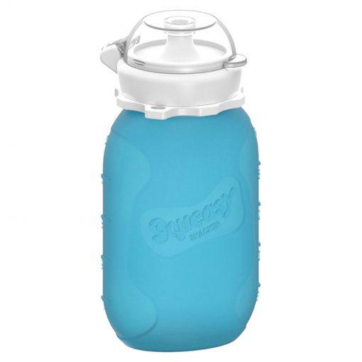 Silikónová kapsička Squeasy Gear 180 ml Modrá 1