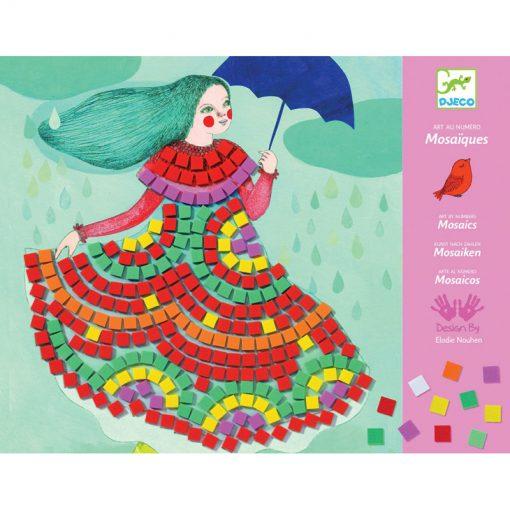 Djeco Mozaika Párty šaty 1