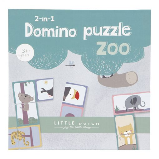 Little Dutch Domino puzzle Zoo 1