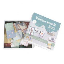 Little Dutch Domino puzzle Zoo 2