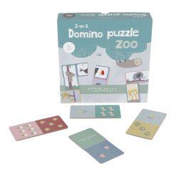 Little Dutch Domino puzzle Zoo 3