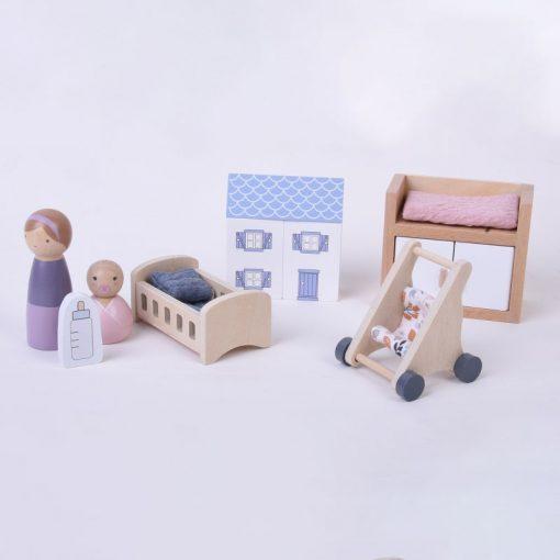 Little Dutch Set do domčeka Detská izbička 1