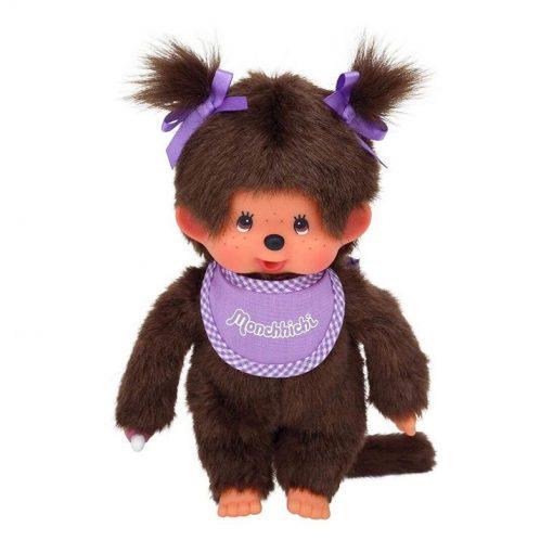 Mončiči dievča s fialovým podbradníkom 1