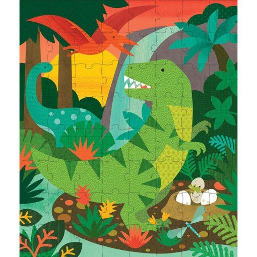 PETITCOLLAGE Puzzle v tube - Dinosaury-13