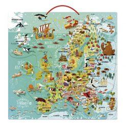 VILAC Magnetická mapa Európy-1