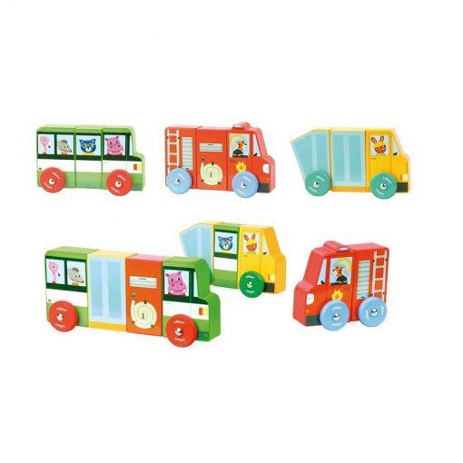 VILAC Magnetické nákladné autá-2