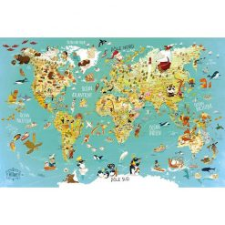 VILAC Mapa sveta -1