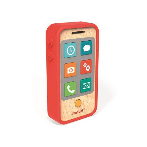 JANOD Detský drevený mobil so zvukmi 1