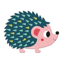 JANOD Mini puzzle Lesné zvieratká ježko