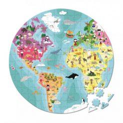 JANOD Obojstranné puzzle Naša modrá planéta 1