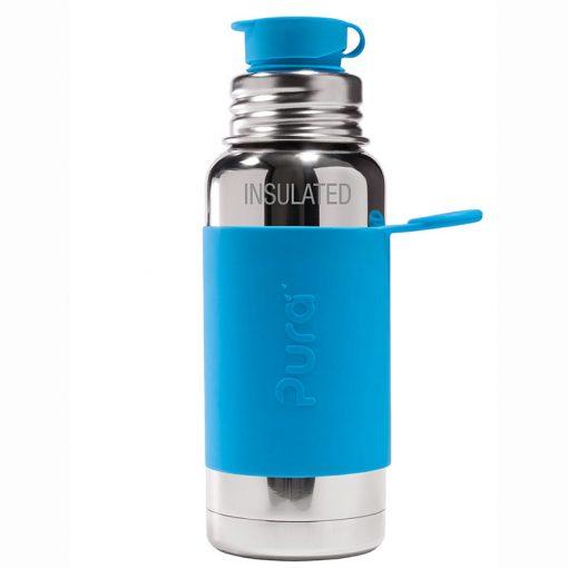 Pura termo fľaša so športovým uzáverom 475 ml Aqua 1