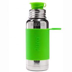 Pura termo fľaša so športovým uzáverom 475 ml Zelená 1