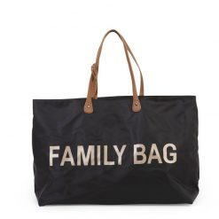 Childhome Cestovná taška Family Bag Black 1