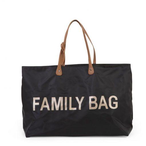 Childhome Cestovná taška Family Bag Black 1