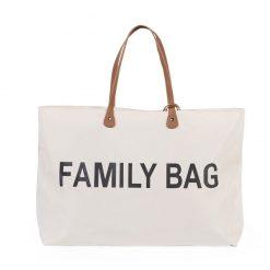 Childhome Cestovná taška Family Bag White 1