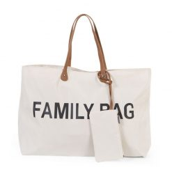 Childhome  Cestovná taška Family Bag White 3