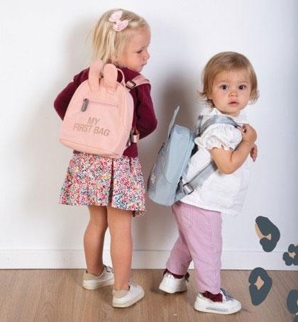 Childhome Detský batoh My first bag Pink 2