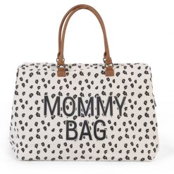 Childhome Prebaľovacia taška Mommy bag Canvas Leopard 1