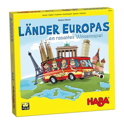 Haba Hra Krajina Európy 1