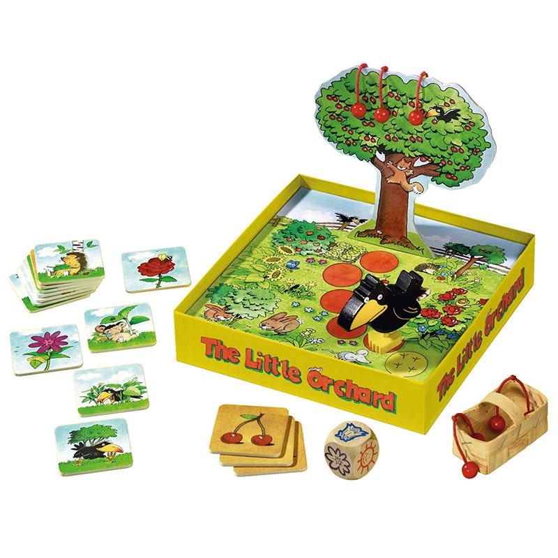 HABA Spoločenská hra Ovocný sad Mini | Little Rabbit