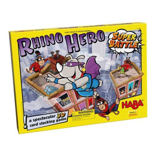 Haba Spoločenská hra Rhino Hero Superboj 1