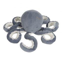 Little Dutch Malá plyšová chobotnička Ocean Blue 1