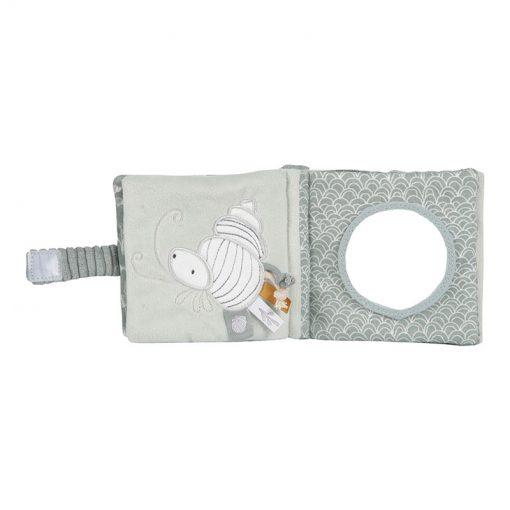 Little Dutch  Plyšová knížka Ocean Mint 2