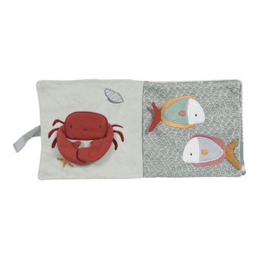 Little Dutch Plyšová knížka veľká Chobotnica Ocean Mint 2