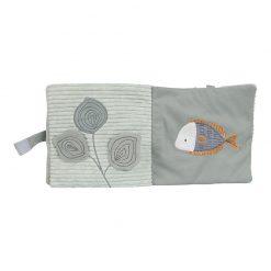Little Dutch Plyšová knížka veľká Chobotnica Ocean Mint 4