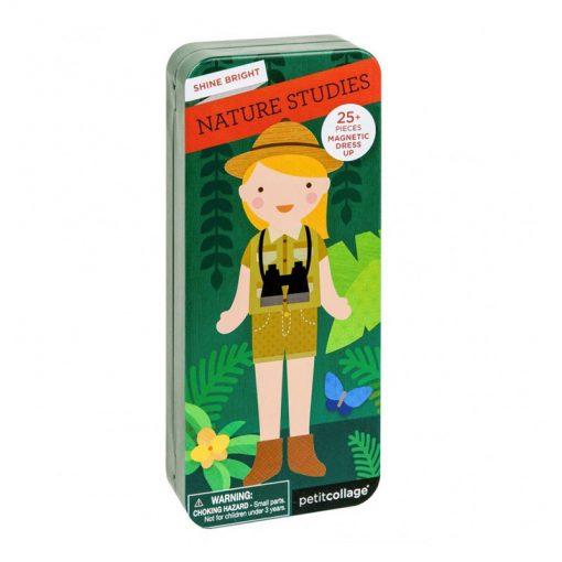 Petitcollage Magnetické puzzle Prírodovedkyňa 1