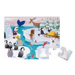 Janod Dotykové puzzle Život na ľade 1
