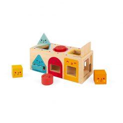 Janod Drevená vkladačka Montessori tvary 2