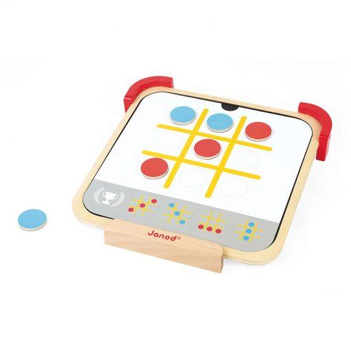 Janod Magnetické čipsy učím sa farby s predlohami 4