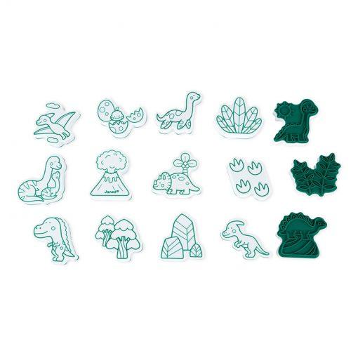 Janod Pečiatky Dinosaury 2