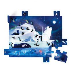 Janod Puzzle s prekvapením Antarktída 1