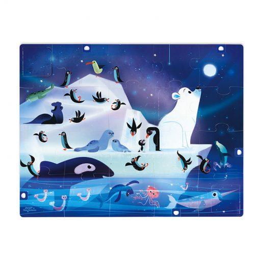 Janod Puzzle s prekvapením Antarktída 3