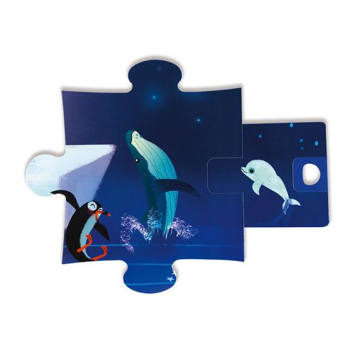Janod Puzzle s prekvapením Antarktída 4