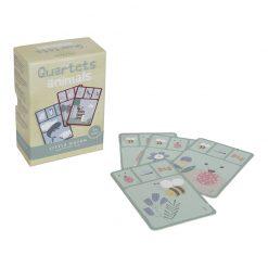 Little Dutch Kartová hra Kvarteto Zvieratká 2