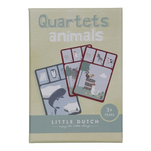 Little Dutch Kartová hra Kvarteto Zvieratká 3