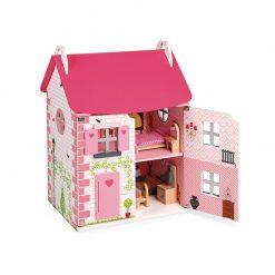Janod Drevený domček pre bábiky Mademoiselle 1