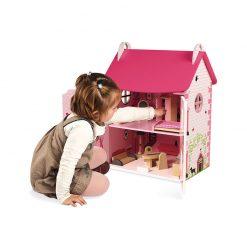 Janod  Drevený domček pre bábiky Mademoiselle 4