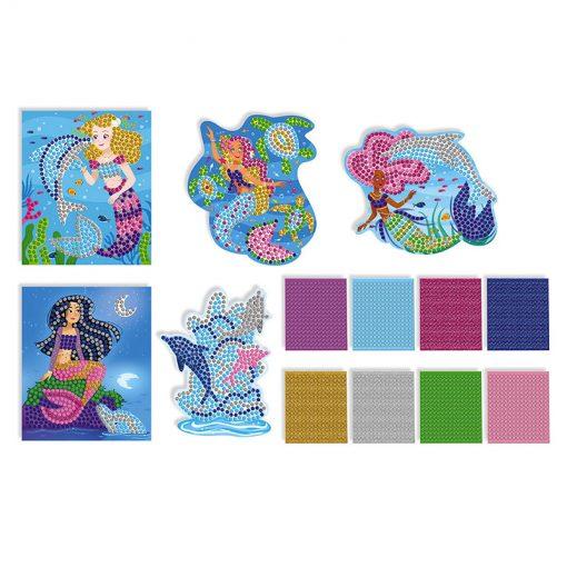 Janod Mozaika Delfíny a Morské panny 3