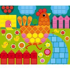Janod Mozaika Zvieratká 4