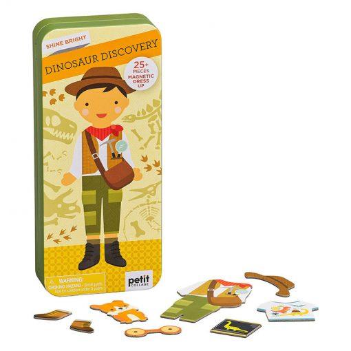 PetitcollageMagnetické puzzle Archeolog 3
