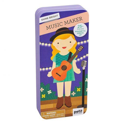 Petitcollage Magnetické puzzle Muzikantka 1