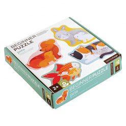 Petitcollage Prvé puzzle Domáce zvieratká 1