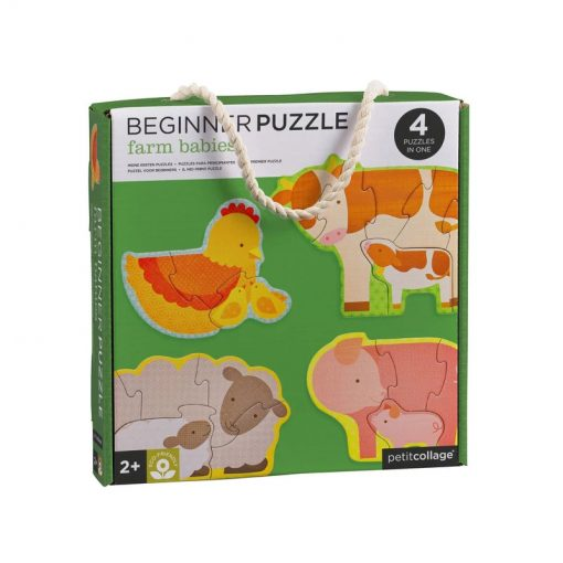 Petitcollage Prvé puzzle Zvieratká z farmy 1